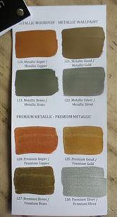 Fonkelnieuw Metallic verf van L'Authentique Paints TH-33